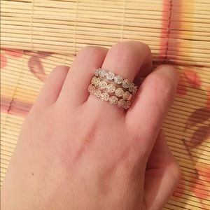 Jewelry - Brand New Gold Plated Ring Sets